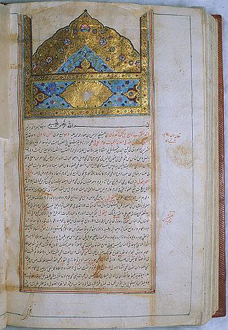 כתב היד של אבו סינא, ספר הרפואה