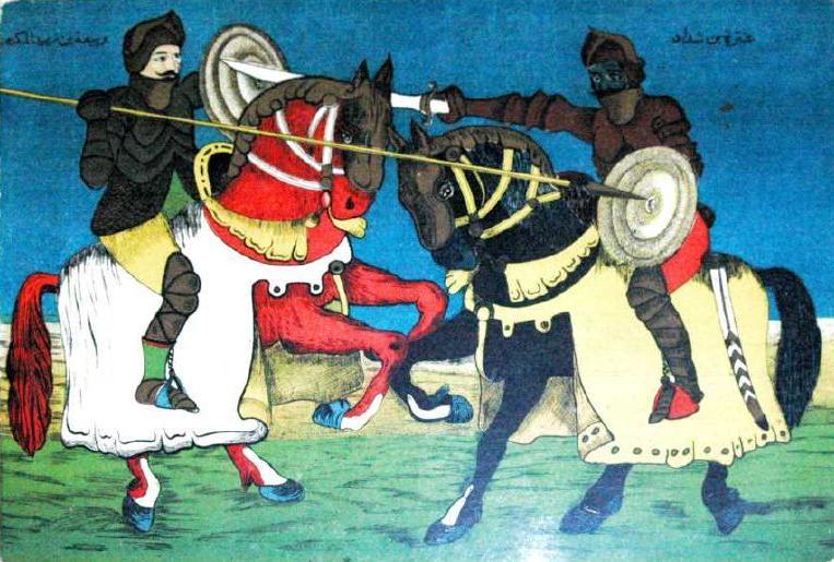 לוחם מוסלמי בקרב