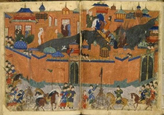 המצור המונגולי על בגדאד 1258 סייף אל ואהידי / ויקיפדיה
