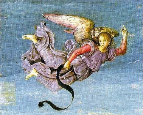 ציור נוצרי,המלאך רפאל מבשר על תחייתו של ישו