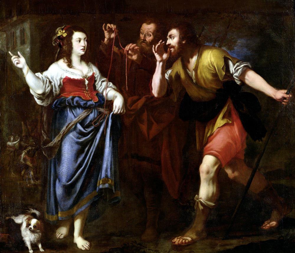 רחב ומרגלי יהושע, בציור מהמאה ה-17