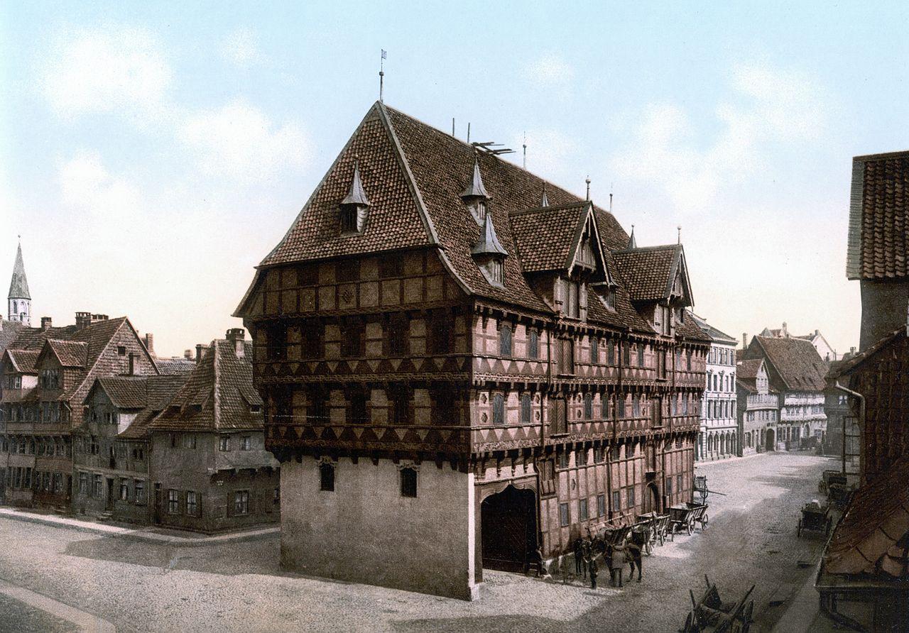 המאזניים הישנים בשנת 1900
