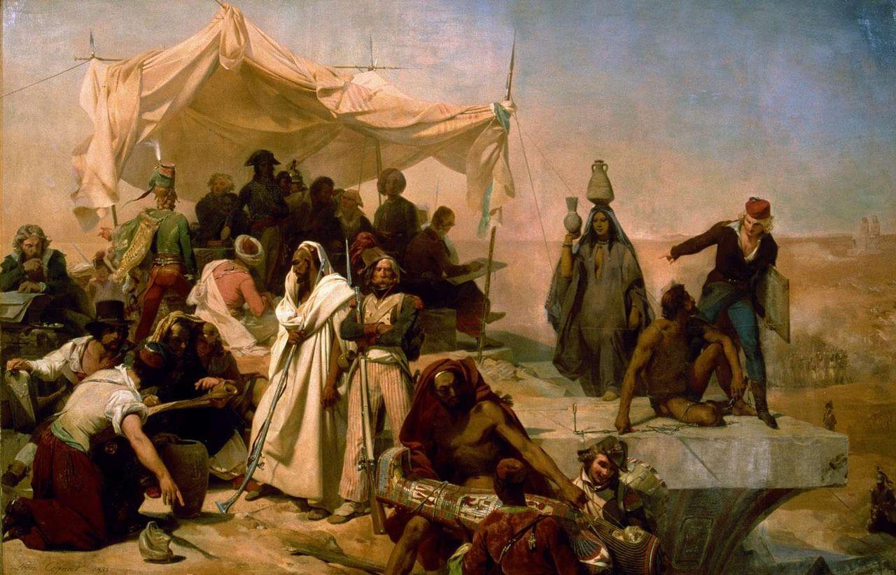 משלחת המדענים של נפוליון Léon Cogniet, early 19th century