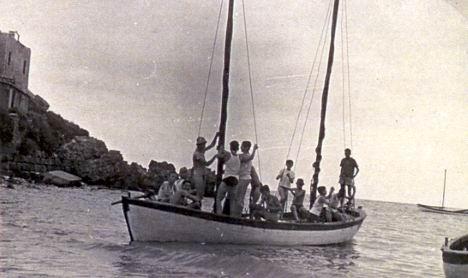 מחנה ימי בקיסריה - אפריל 51