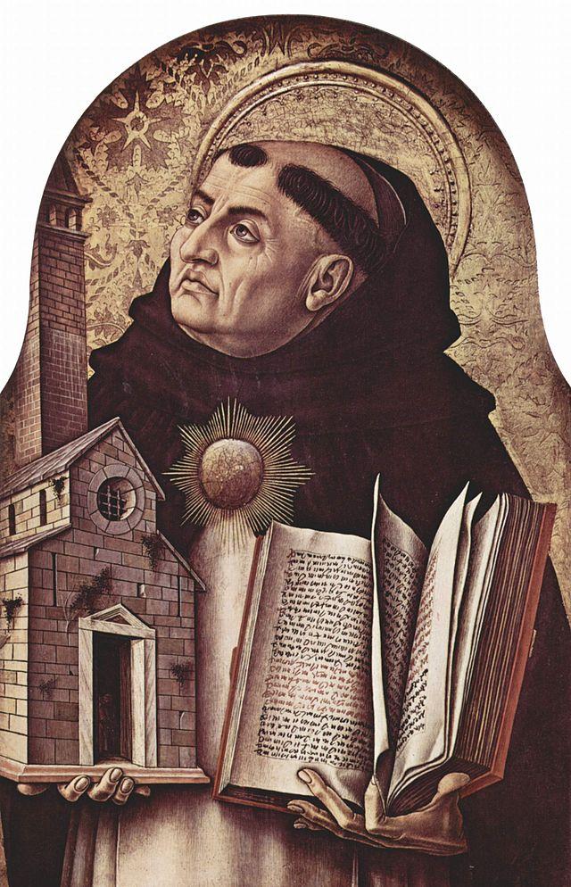תומס אקווינס lo Crivelli (בסביבות 1435– 1495