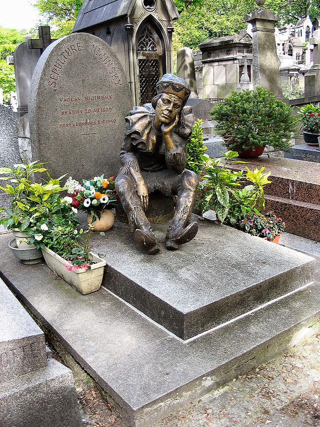 קברו של ניז'ינסקי במונמרטר