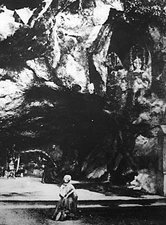 ברנדט במערה 1863