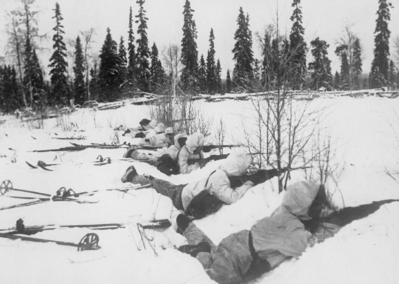 חיילי יחידות סקי פינים