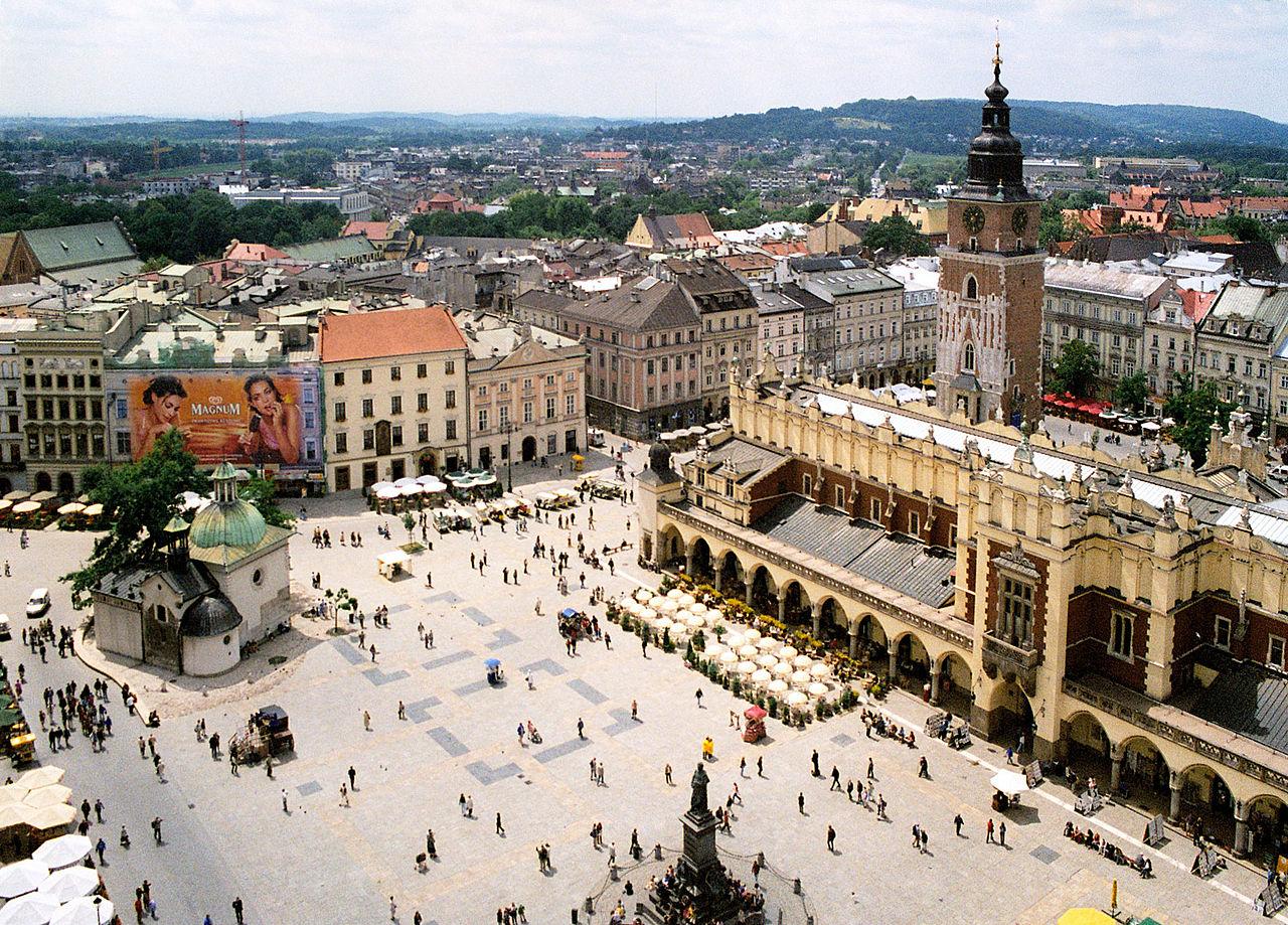 כיכר השוק בקרקוב, פולין