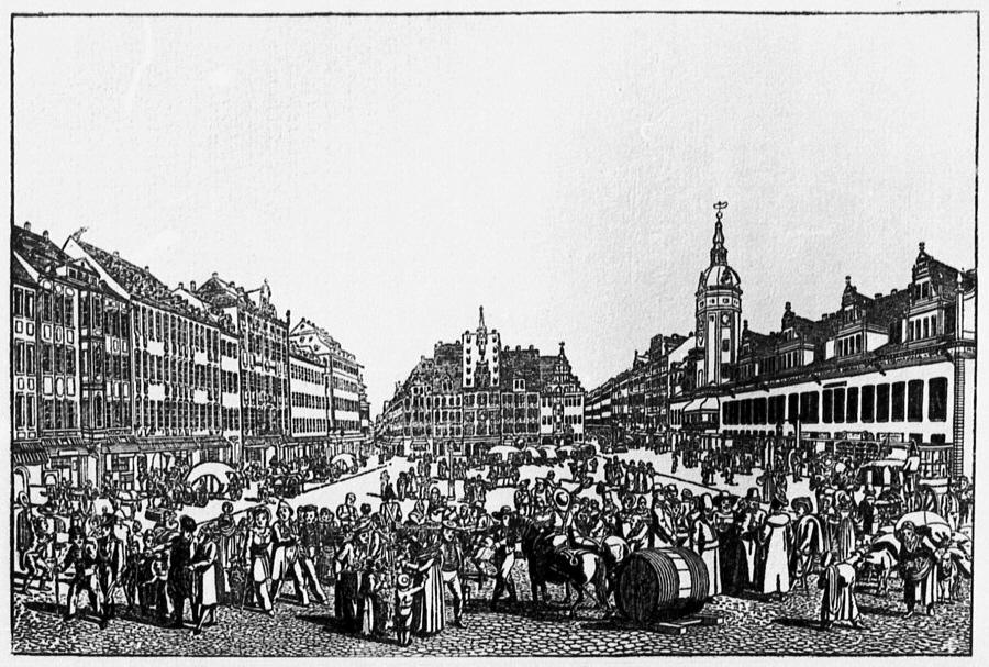 מתחם הירידים בשנת 1800