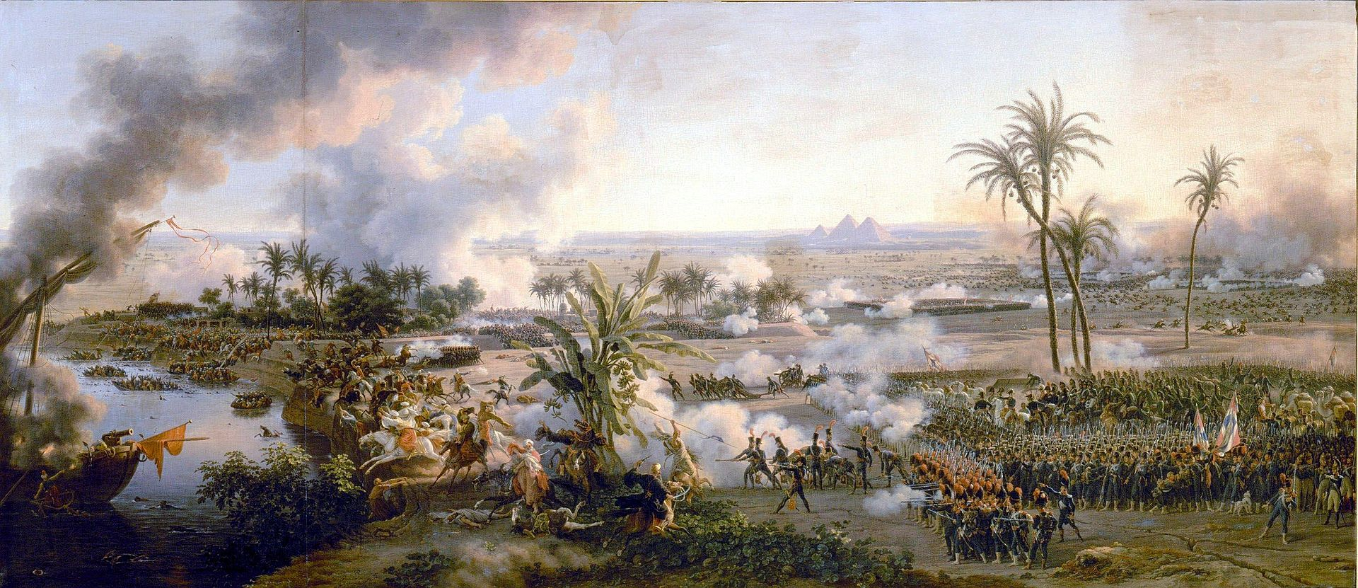 הקרב על הפירמידות Louis-François, Baron Lejeune, 1808
