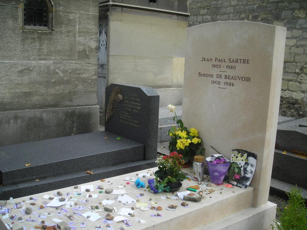 קברם של ז'אן פול סארטר ושל סימון דה בובואר