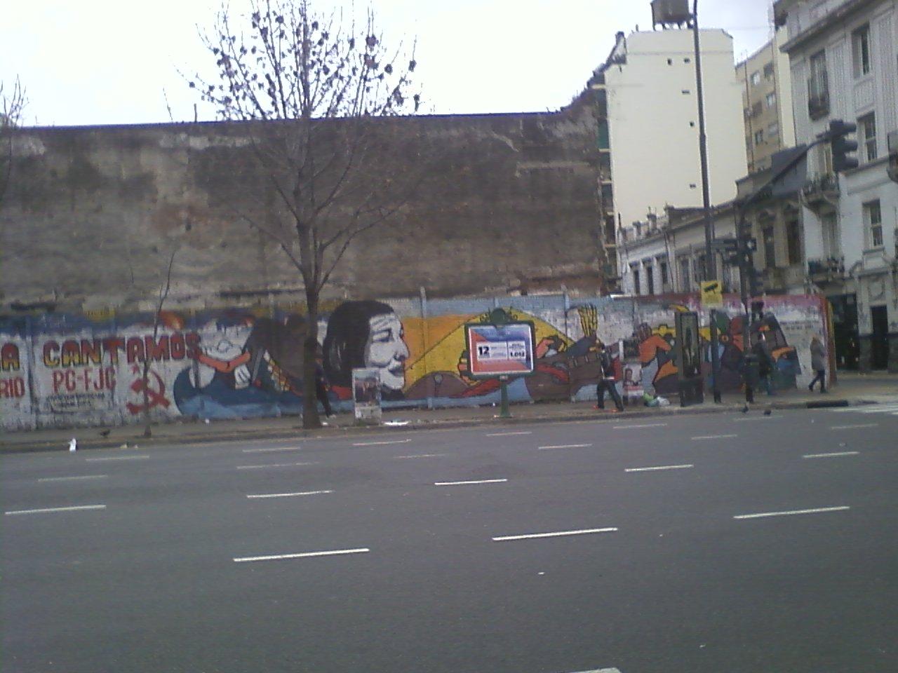 גרפיטי על כל קיר