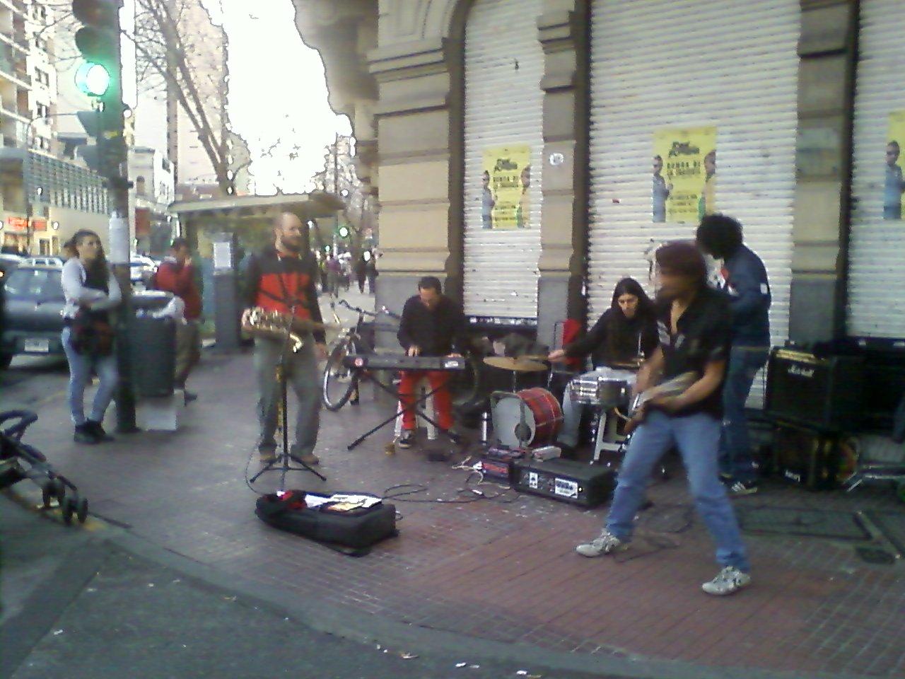 להקת רחוב