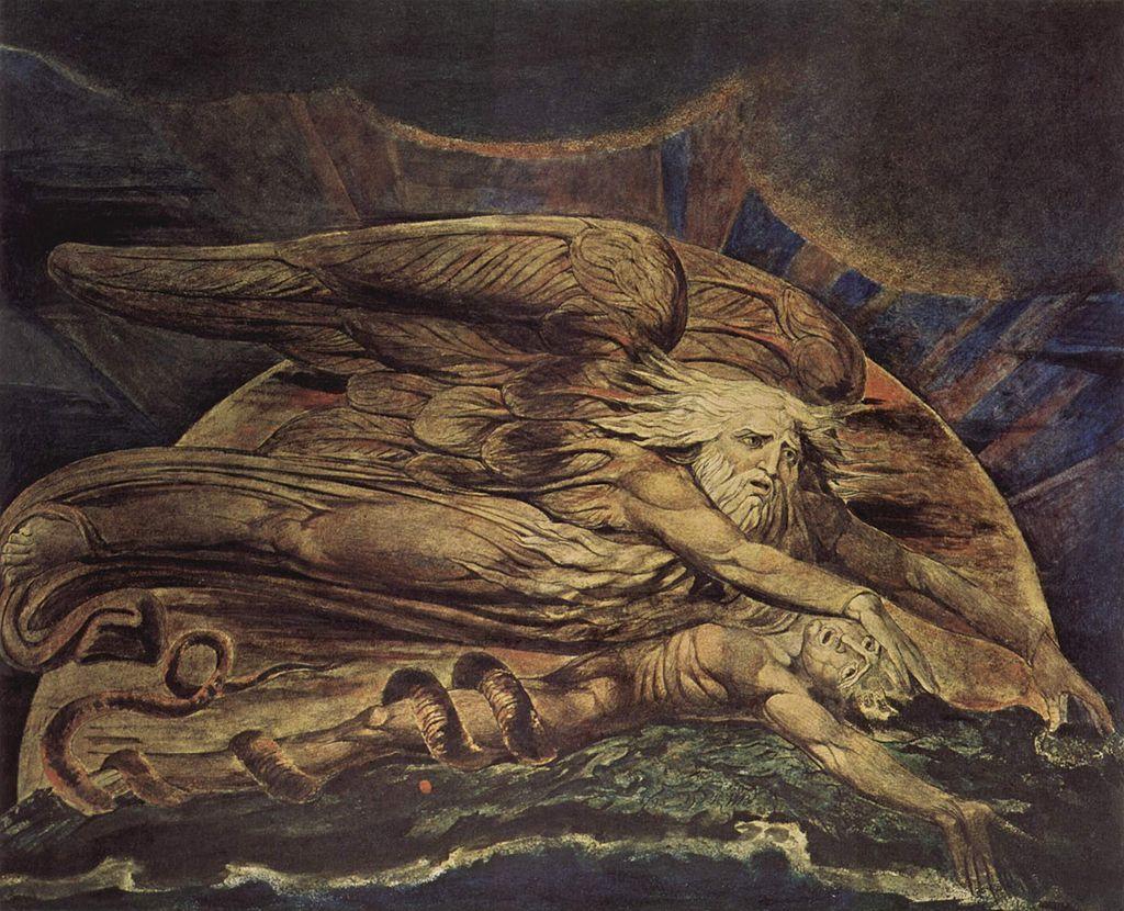 בריאת האדם, ויליאם בלייק, 1795
