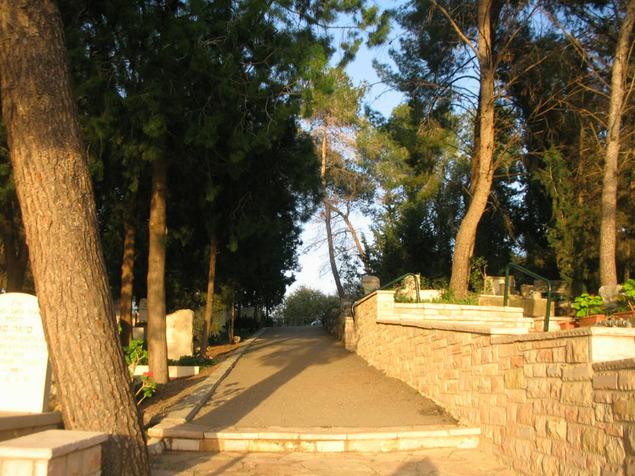 ממקימי הישוב ועד מכונני התרבות הישראלית. בית הקברות נהלל (צילום: איריס זרטל)
