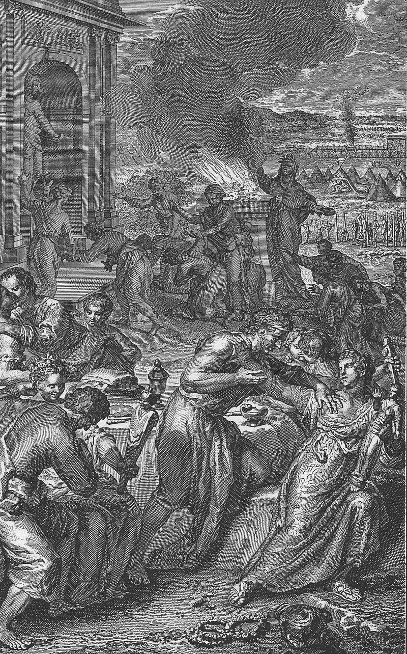 שידול בני ישראל לעבודת אלילים על ידי בנות מואב