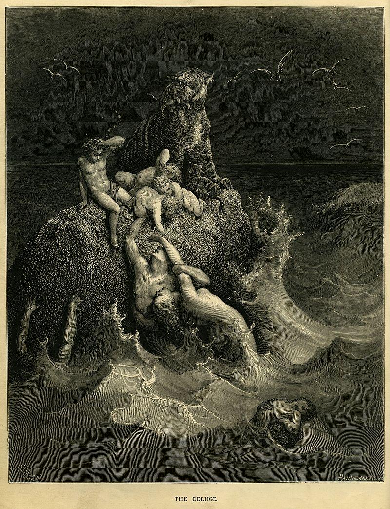 """""""המבול"""", גוסטב דורה"""