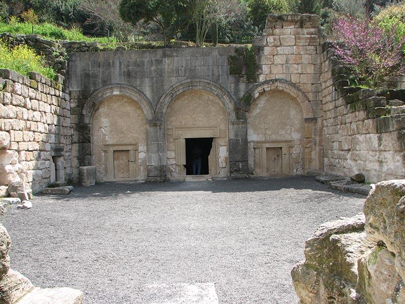 מערת יהודה הנשיא (מערת הארונות) בבית שערים