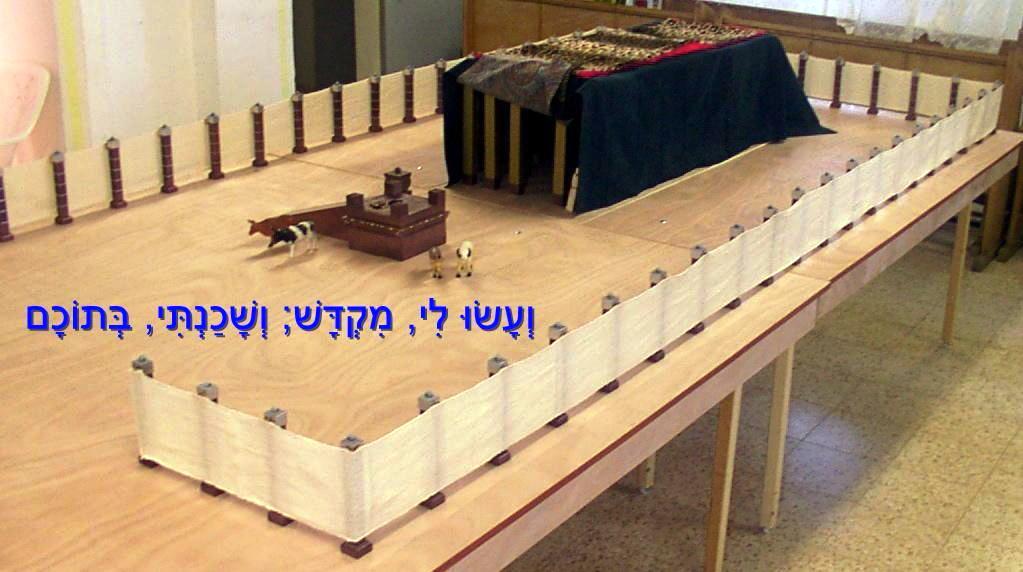 דגם המשכן - מיכאל אוסניס קדומים