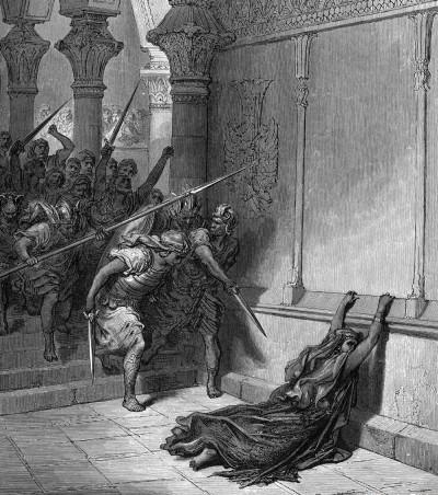 מות עתליה, ציור מאת גוסטב דורה