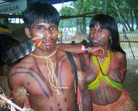 אינדיאנים משבט קראיה