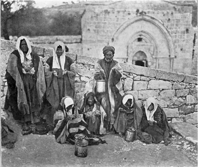 מצורעים בירושלים בשנת 1906