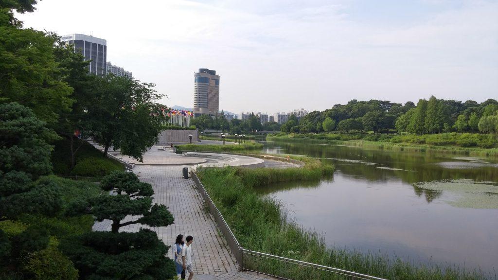 הפארק האולימפי - פנינה בלב העיר