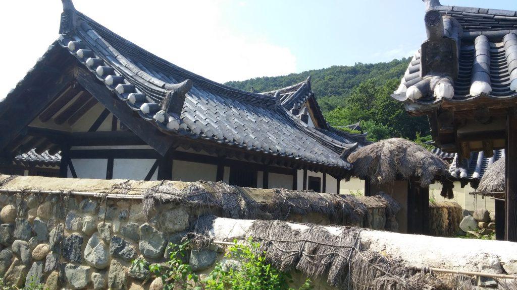 האנוק, בית קוריאני מסורתי בפארק המילניום