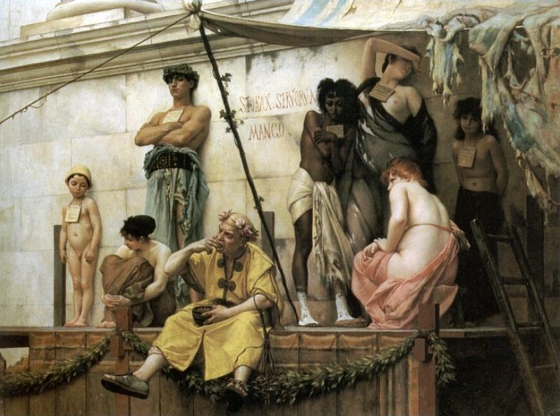 שוק העבדים, גוסטב קלרנס