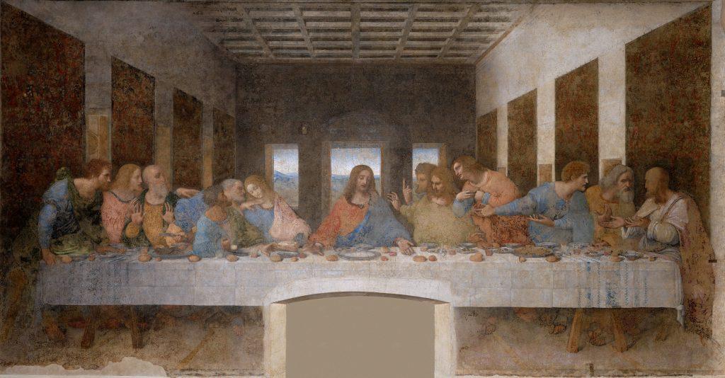 הסעודה האחרונה ליאונרדו דה וינצ'י, 1498
